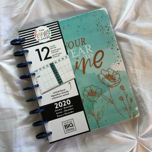 """2020 Happy Planner - """"It's Your Year To Shine"""""""